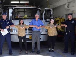 Applegate Fire District Celebrating Grant Award